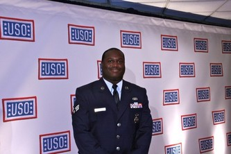 Senior Airman James A. Baynard, USO Airman of the Year
