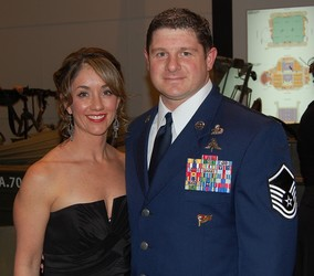 Jennifer and MSGT Shawn Minyon