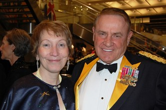 Cheryl Klippel and MAJ Phil Klippel